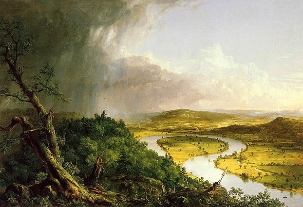 The Oxbow - Thomas Cole 1836