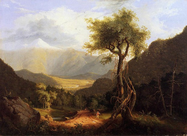 Thomas Cole: View in the White Mountains 1827
