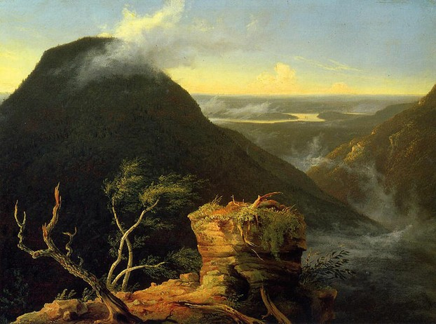 Thomas Cole: Sunny Morning on the Hudson River 1827