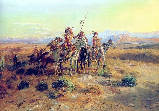 The Scouts - Charles Marion Russell