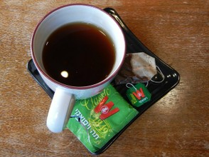 Wissotsky Tea Classic - Cup and Tea Bag