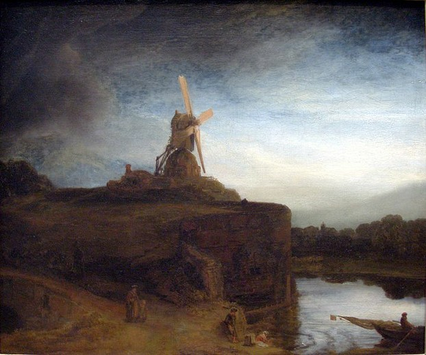The Mill by Rembrandt