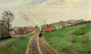Lordship Lane Station by Camille Pissarro