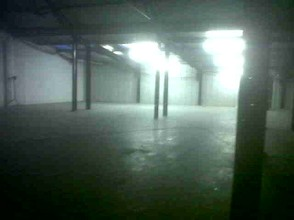The warehouse space