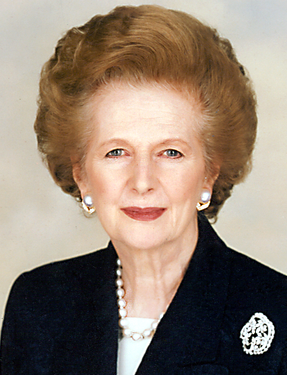 Margaret Thatcher. AKA The Iron lady