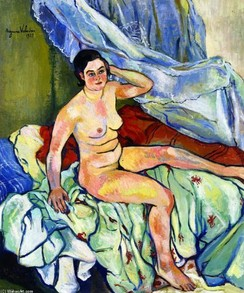 Nude on Bed by Suzanne Valadon
