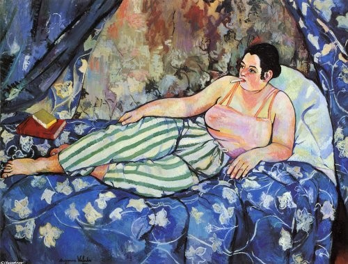 The Blue Chamber by Suzanne Valadon
