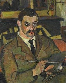 Maurice Utrillo by Suzanne Valadon