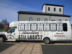Jim Beam Tour Bus Showing Family Distillers