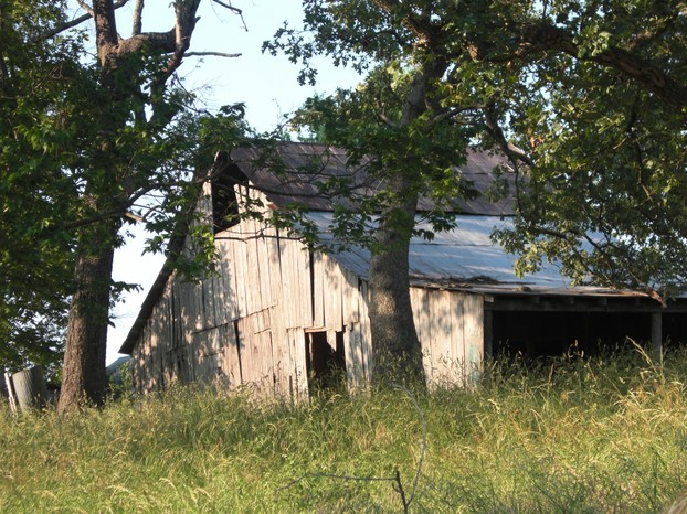An Old Abandoned Barn in Missouri