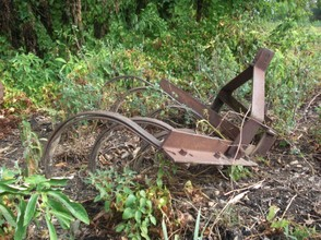 Antique Farming Equipment: Horse Drawn Plow