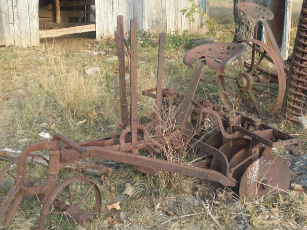 Antique Horse Drawn Tractor