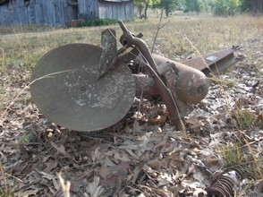 Antique Disk Plow