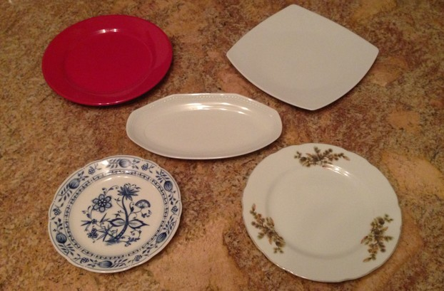 Different plates