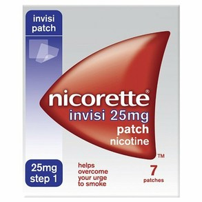 Nicorette Invisi Patch 25mg- 7 patches - Step 1