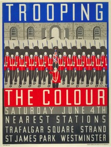Trooping the Colour, Margaret Calkin James,  1932