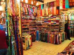 Carpets in Bazaar in Isrtanbul