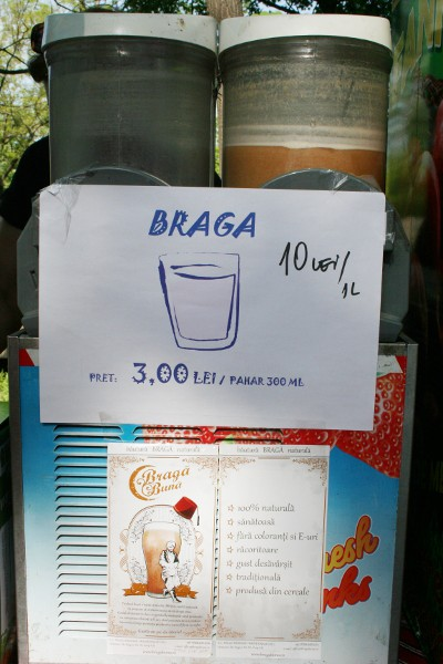 Braga, a Cloudy Yummy Drink