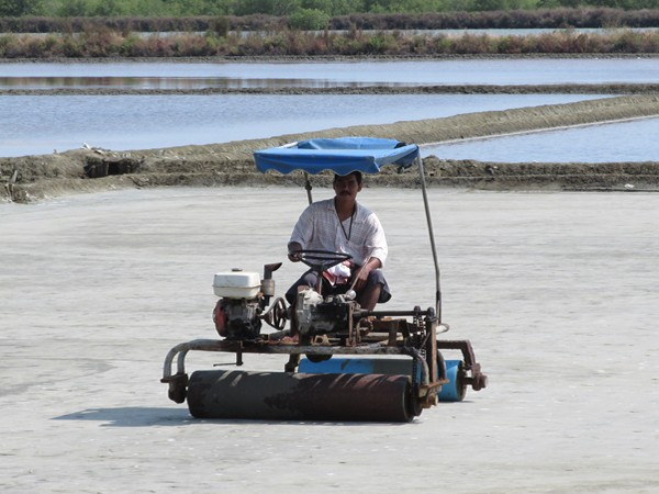 Flattening the Salt Pans