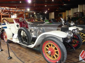 Vintage Car in National Motor Museum, New Forest