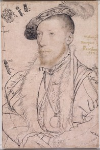 Hans Holbein the Younger, William Parr, later Marquess of Northampton, c.1538-42   Royal Collection Trust / (C) Her Maje