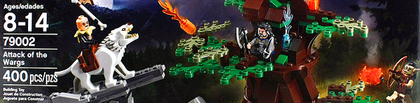 LEGO Hobbit - Attack of the Wargs