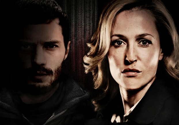 James Dornan and Gillian Anderson in The Fall