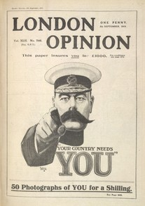 Your Country Needs you,  Alfred Leete (1914)