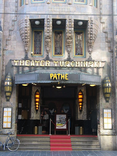 The Entrance to the Tuschinski Theatre, Amsterdam