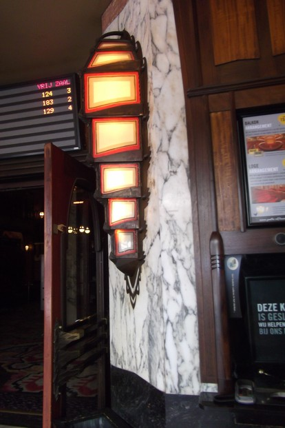 Light in the Foyer of Tuschinski Theatre