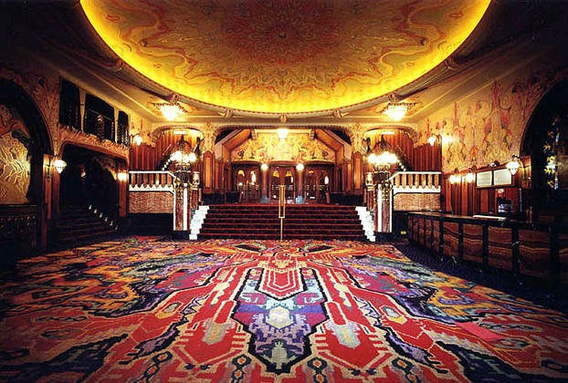 The Fabulous Foyer of the Tuschinski Theatre