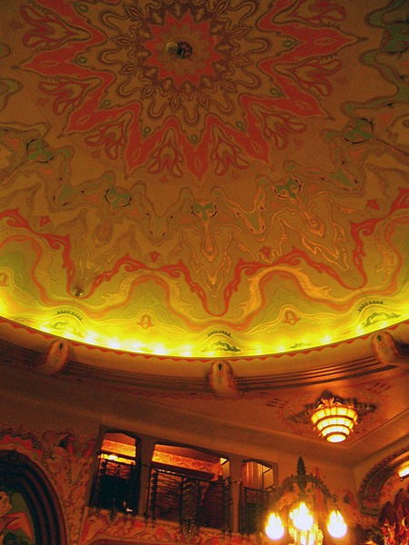Ceiling in the Foyer of Tuschinski Theatre