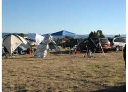 Camping at the Star Party