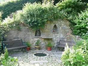 Chalice Well meditation sanctuary