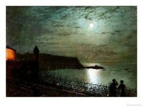 Scarborough by Moonlight - Atkinson Grimshaw