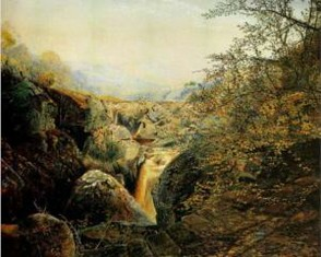Colwith Force by Atkinson Grimshaw