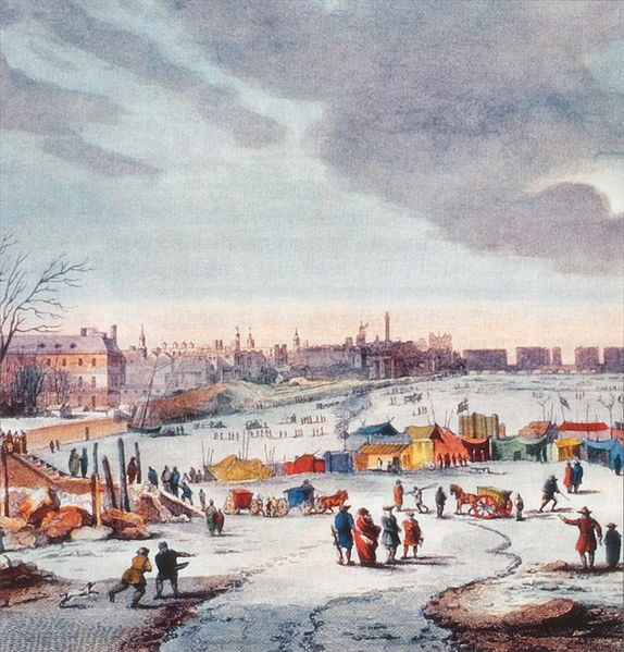 Frost Fair on the River Thames by Thomas Wyke