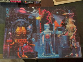 """Space Warriors"" puzzle from 1977"