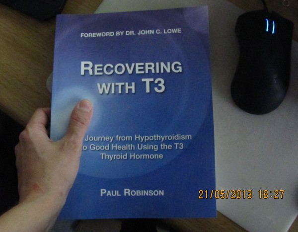 My copy of Recovering with T3
