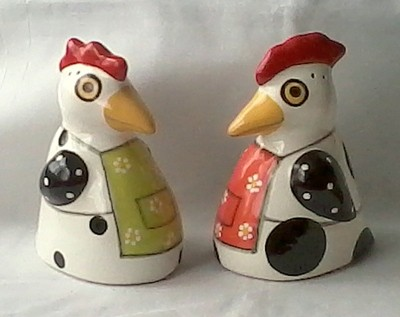 My Newest Set of Salt And Pepper Shakers