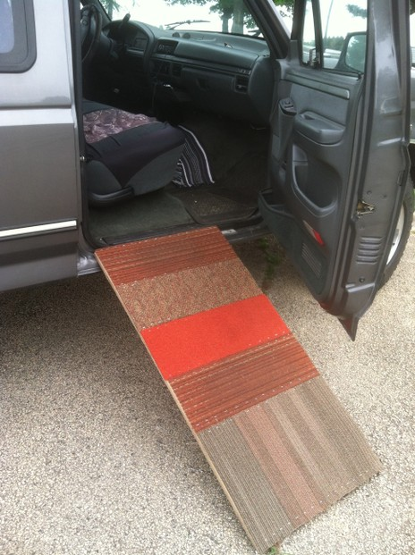 Dog Ramp Plans: How To Make A Dog Ramp For Truck, Quickly And Cheap