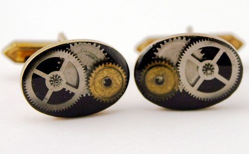 Steampunk Jewelry Cufflinks