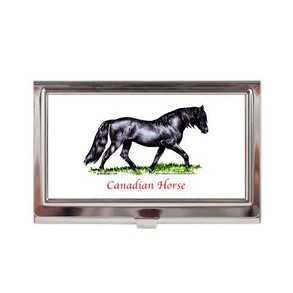 Canadian Horse Business Card Case