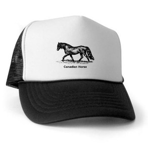 Canadian Horse Trucker Hat