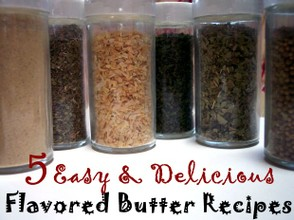 Make mouthwatering  butters for breads, meat, veggies, and more!