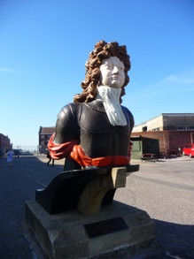 Captain Benbow, Ship's Figurehead