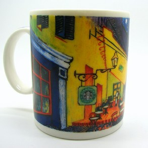 Cafe Terrace Van Gogh Starbucks Mug
