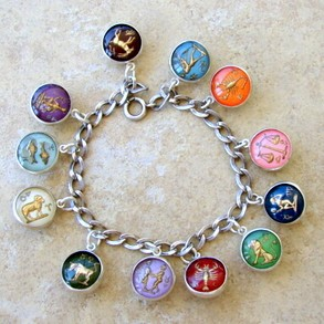 Zodiac Bubble Charms