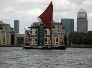Thames Sailing Barge, Deptford