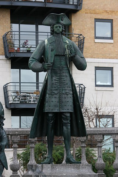 Statue of Peter the Great Deptford